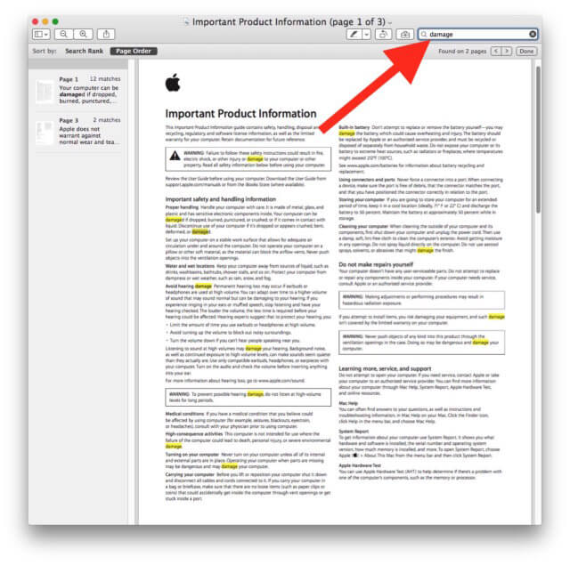 search-preview-mac-pdf-example