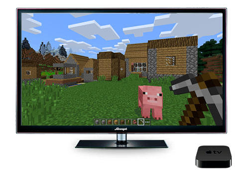 minecraft-para-el-apple-tv