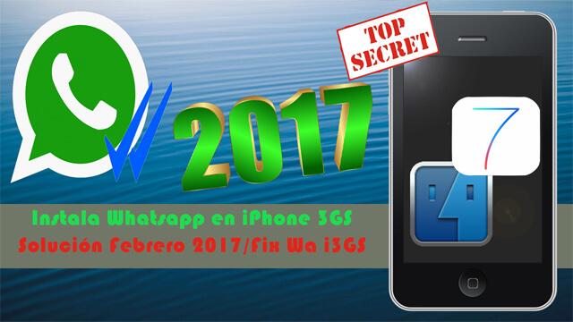 Como instalar whatsapp en iphone 3gs gratis sin jailbreak