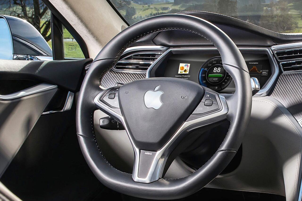 Apple se asocia con Hertz en pruebas de autos autónomos