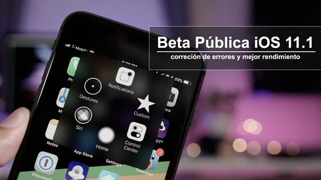 Beta Pública de iOS™ 11.1