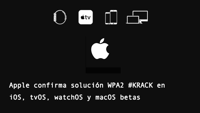 Apple WPA2 iOS macOS