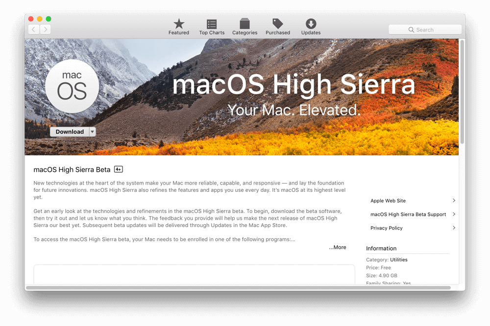 macOS 10.13.1