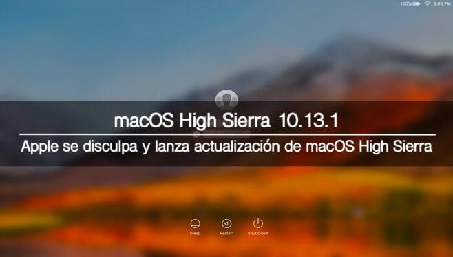 macOS High Sierra 10.13.1