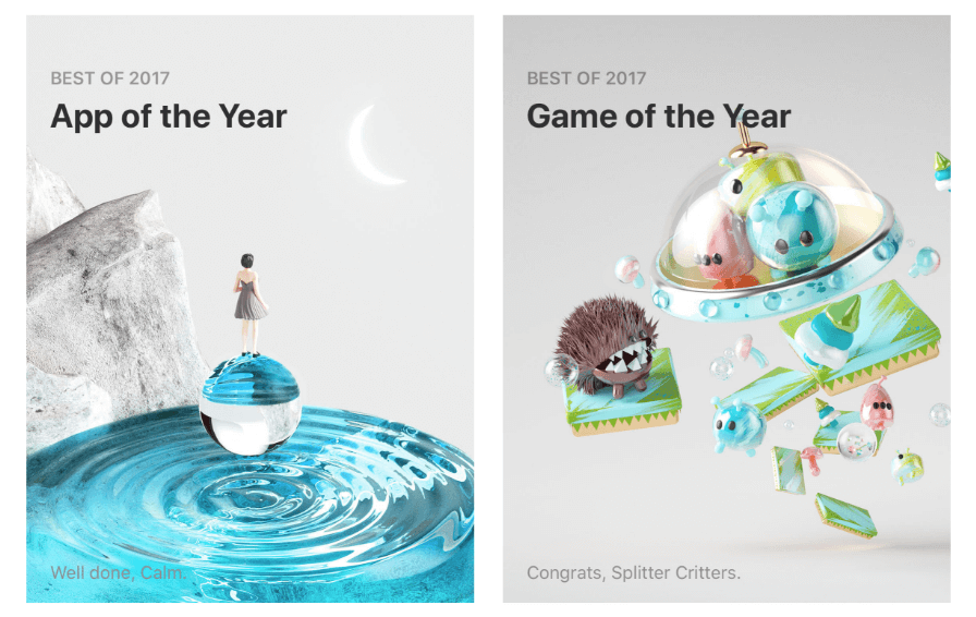 top app 2017