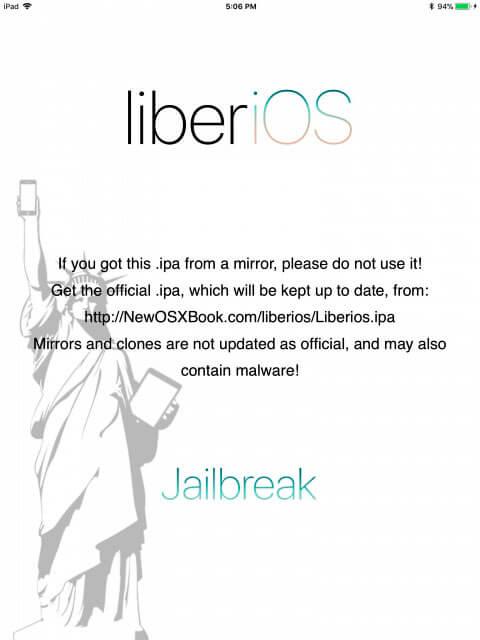 LiberiOS iOS 11.0 - 11.1.2