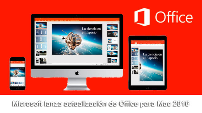 Office para Mac 2016
