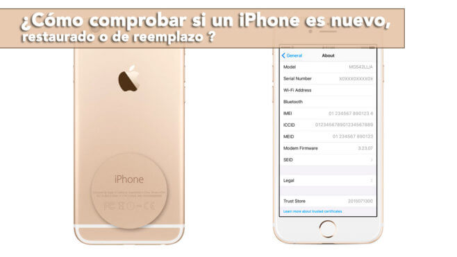 iPhone restaurado