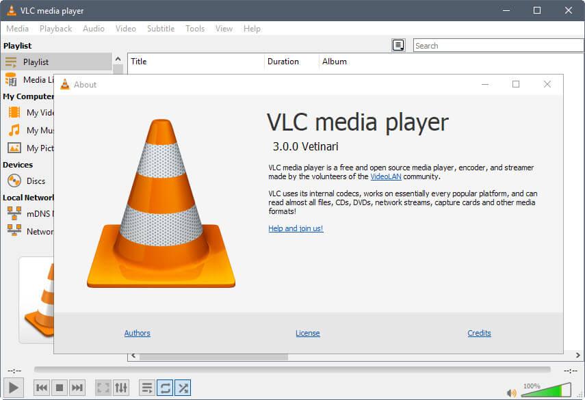 VLC 3.0