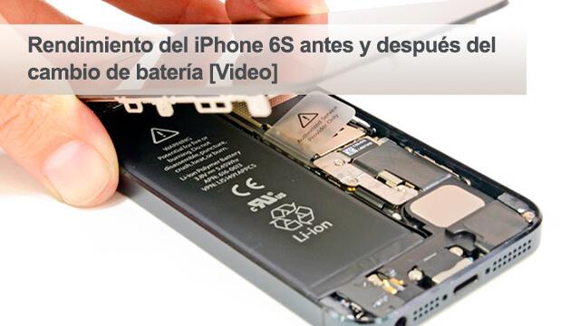 Batería de reemplazo de Apple