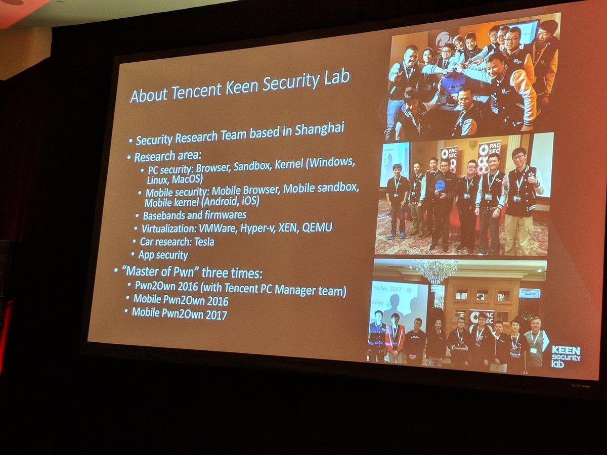 Tencent Keen Security Labs