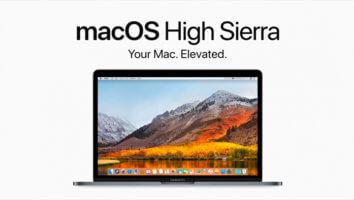 macOS Hig Sierra 10.13.6