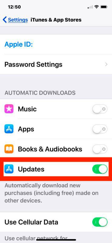 Actualizaciones Apps