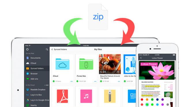 Archivos Zip iOS