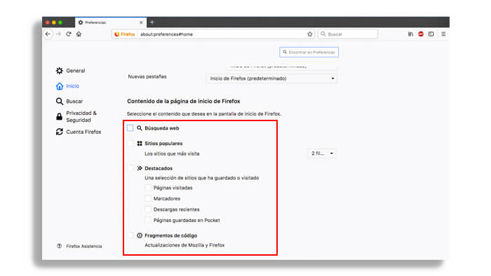 Firefox MacOS