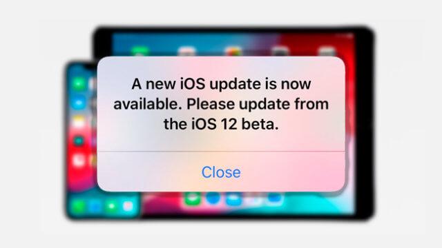 iOS 12 Beta 12