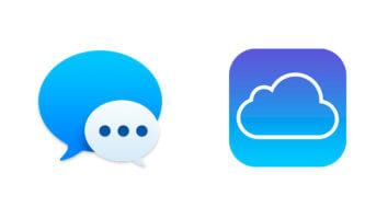Mensajes y iCloud Mac