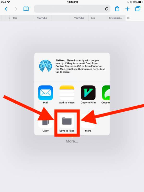 Archivos Zip iPhone