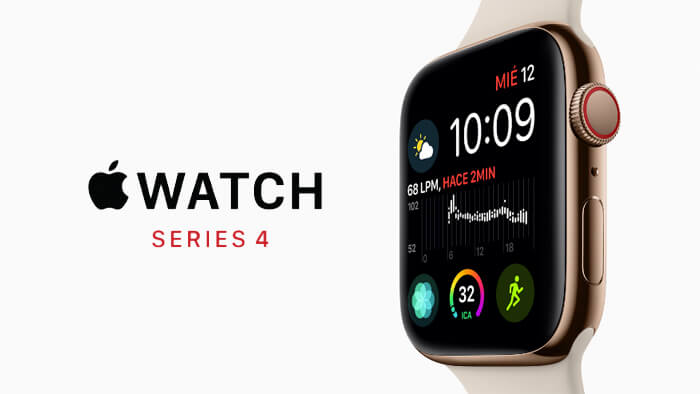 Apple presenta Apple Watch Series 4 con pantalla más grande