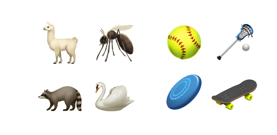 iOS 12.1 Beta 4 Emojis