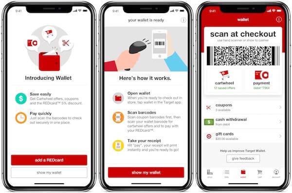 Target Walllet App