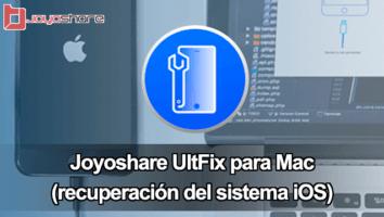 Joyoshare UltFix iOS