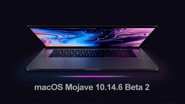 macOS Mojave 10.14.6 Beta 2