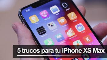 Trucos iPhone XS Max