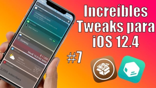 Tweak iOS 12.4