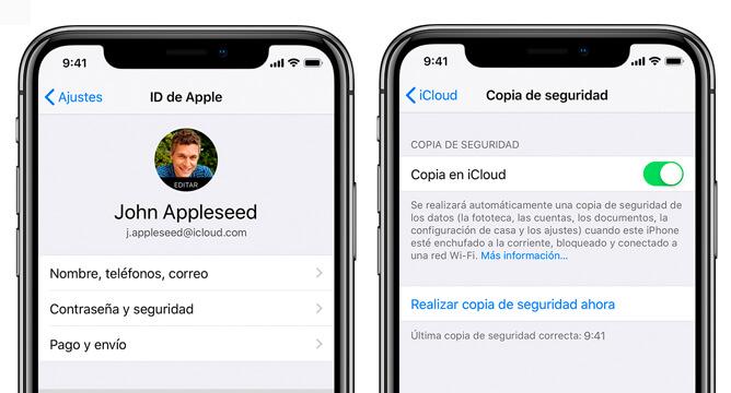 iCloud iOS 13
