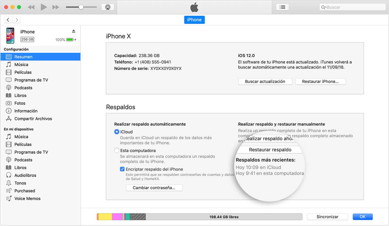 iTunes iOS 13