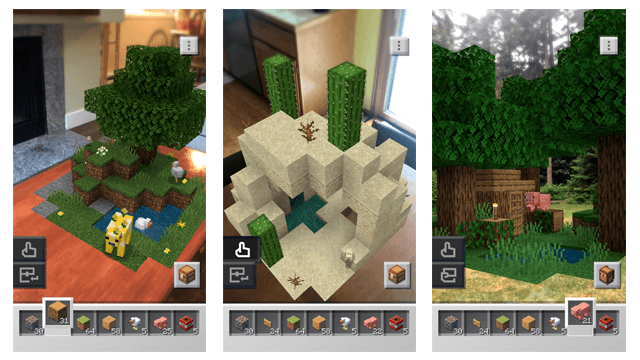 Minecraft Earth iOS