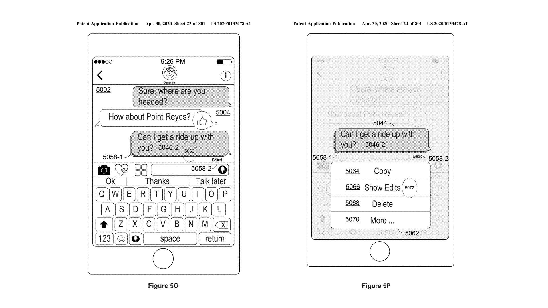 Patente iMessage