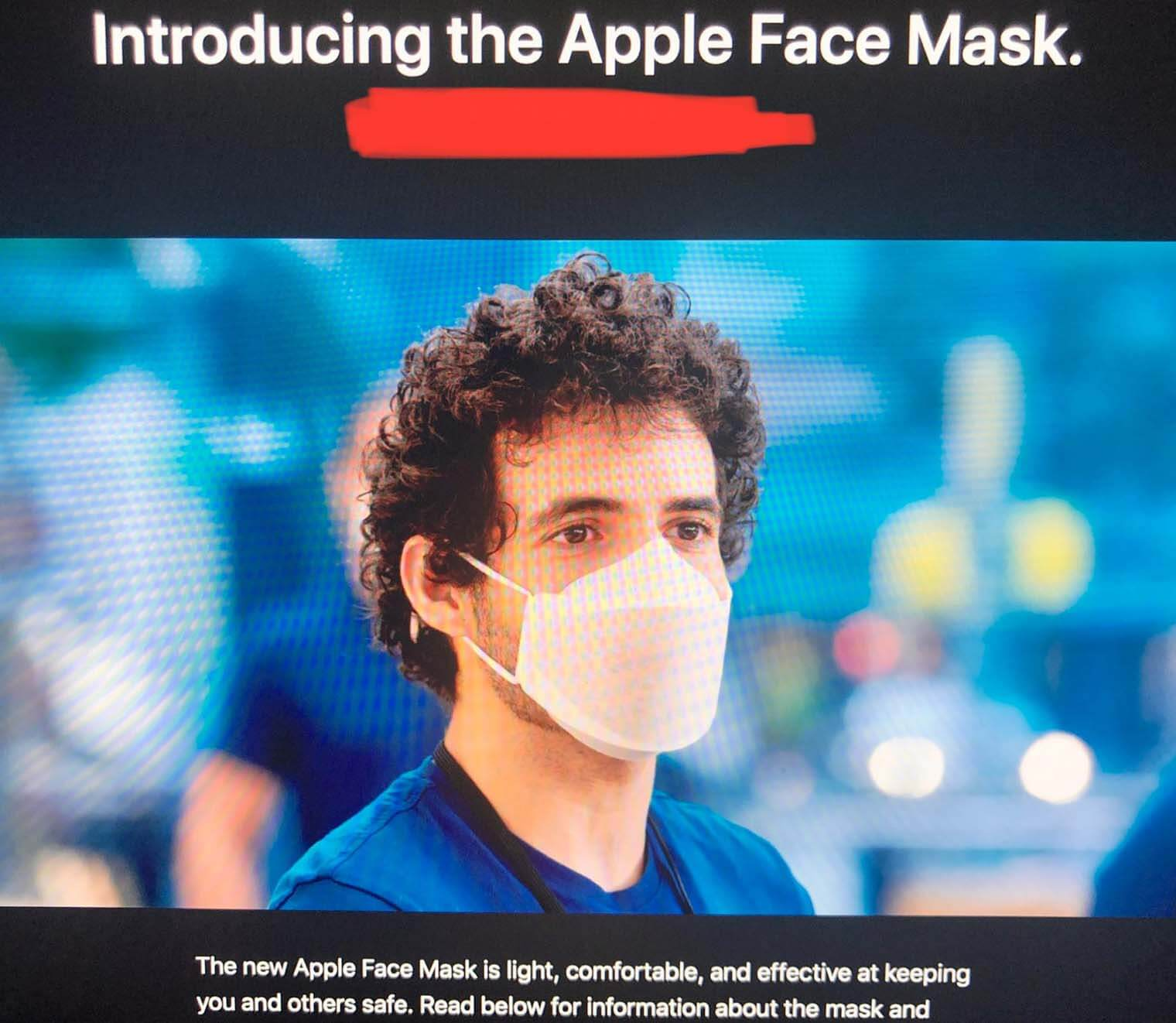 Apple ClearMask
