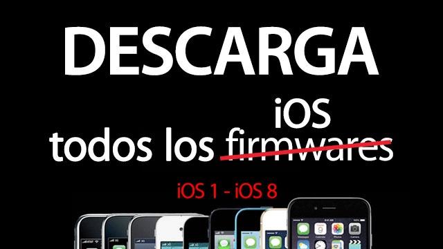 Firmware para iPad, iPhone, iPod, AppleTV & Apple Watch